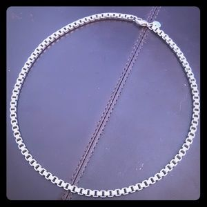 "Tiffany & Co. Venetian Link necklace 16"""